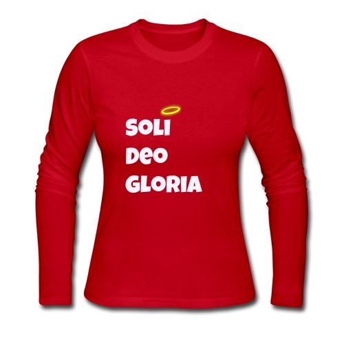 FOR THE GLORY OF GOD ALONE! - Women's Long Sleeve Jersey T-Shirt