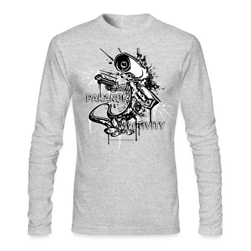 Paranoia Activity - Men's Long Sleeve T-Shirt by Next Level