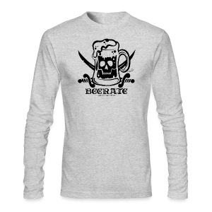 Beerate - black - Men's Long Sleeve T-Shirt by Next Level