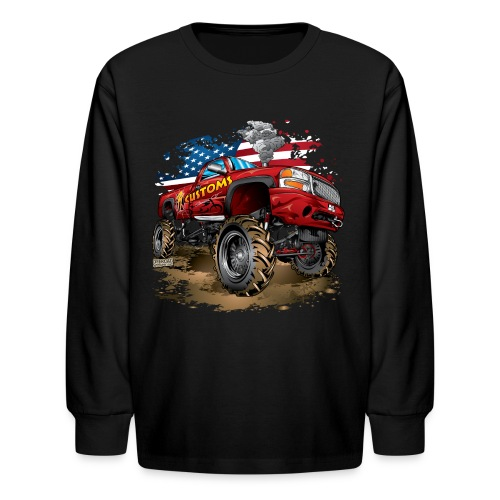 PT Customs Original Design - Kids' Long Sleeve T-Shirt
