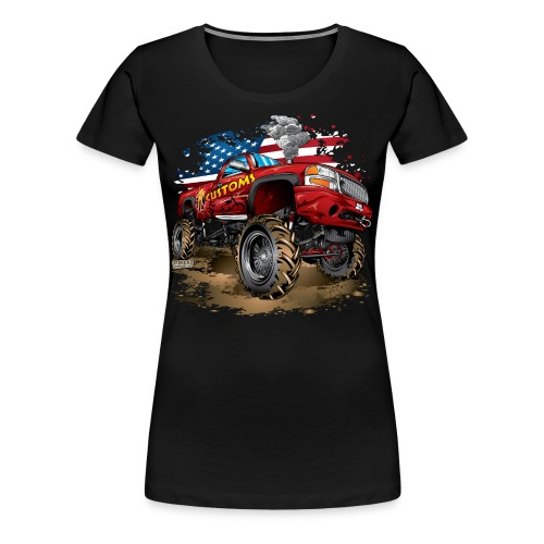 PT Customs Original Design - Women's Premium T-Shirt