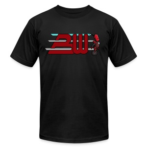 Blitzwinger Woosh Men's T-Shirt - Men's T-Shirt by American Apparel