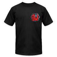 T-Shirts ~ Men's T-Shirt by American Apparel ~ Blitzwinger BW Logo Men's T-Shirt