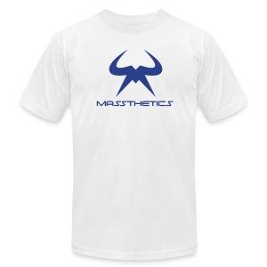 Blue Logo Free Color Selection - Men's Fine Jersey T-Shirt