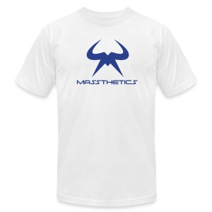 Blue Logo Free Color Selection - Men's Fine Jersey T-Shirt