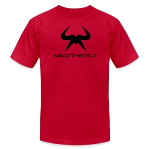 Black Logo Free Color Selection - Men's T-Shirt by American Apparel