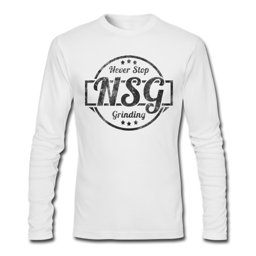 NSG Long Sleeve - Men's Long Sleeve T-Shirt by Next Level