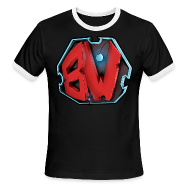 T-Shirts ~ Men's Ringer T-Shirt ~ BW Men's T-Shirt