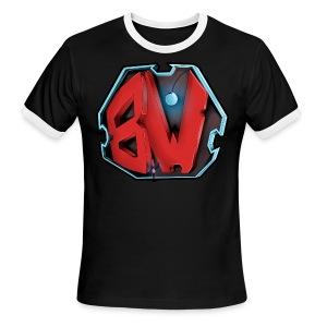BW Men's T-Shirt - Men's Ringer T-Shirt