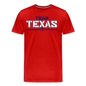 Men's Team Shirt (Red) - Men's Premium T-Shirt