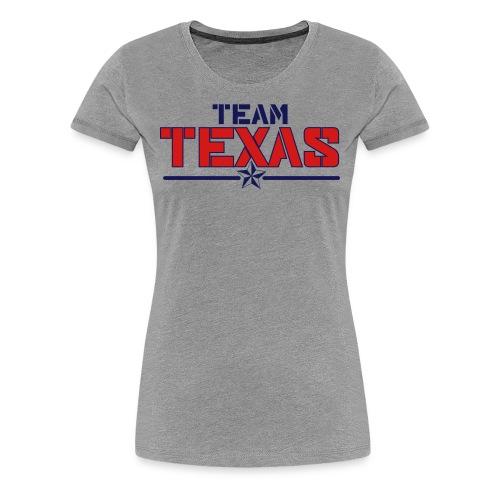 Women's Team Shirt (Grey) - Women's Premium T-Shirt