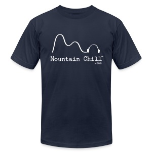 Mountain Chill® Official Tee Shirt - Men's T-Shirt by American Apparel