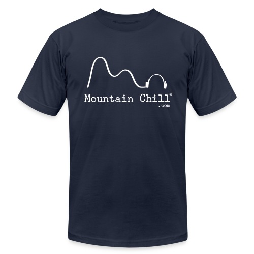 Mountain Chill® Official Tee Shirt - Men's Fine Jersey T-Shirt