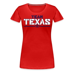 Women's Team Shirt (Red) - Women's Premium T-Shirt