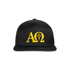 Alpha & Omega - Snap-back Baseball Cap
