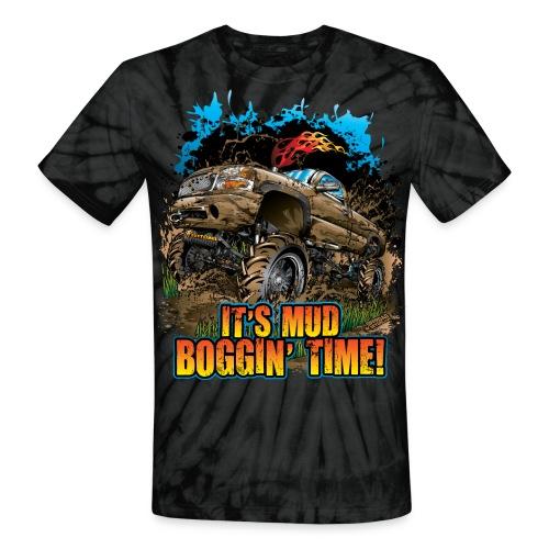 It's Mud Boggin Time - Unisex Tie Dye T-Shirt