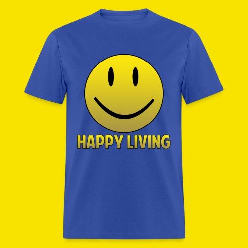 Happy Living LOGO - Men's T-Shirt
