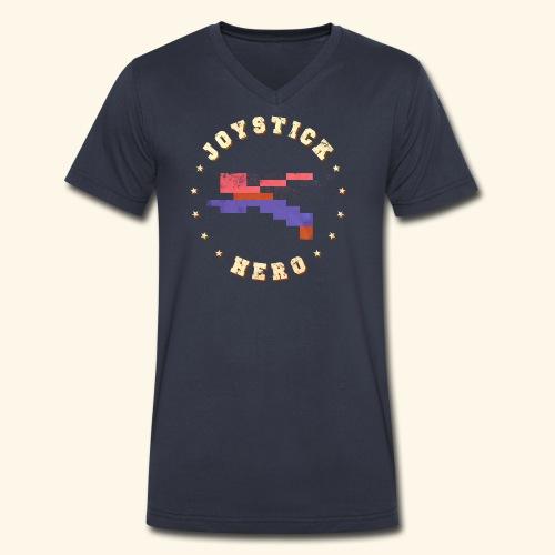 Joystick Hero 2 - Men's V-Neck T-Shirt by Canvas