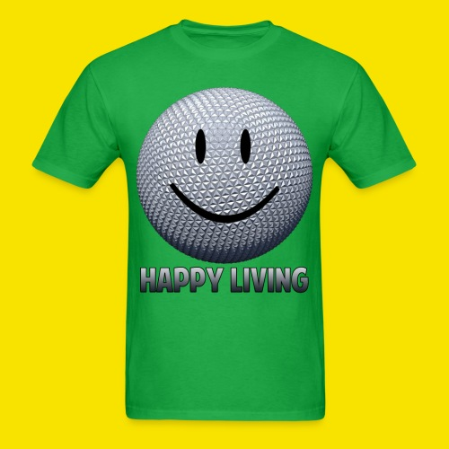 Happy Living Epcot - Men's T-Shirt