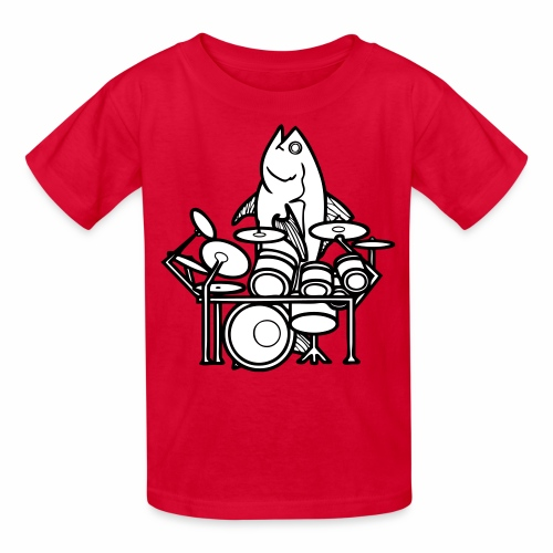 Fish Solo Kid's T-shirt - Kids' T-Shirt