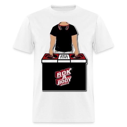 Rokstar DJ - Men's T-Shirt