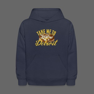 Take Me To Detroit Coney - Kids' Hoodie