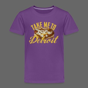 Take Me To Detroit Coney - Toddler Premium T-Shirt