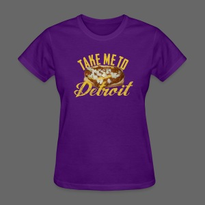Take Me To Detroit Coney - Women's T-Shirt