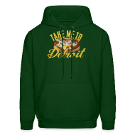 Hoodies ~ Men's Hoodie ~ Take Me To Detroit Coney
