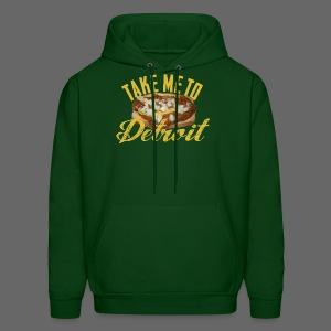 Take Me To Detroit Coney - Men's Hoodie
