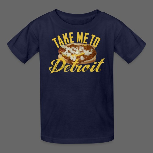 Take Me To Detroit Coney - Kids' T-Shirt