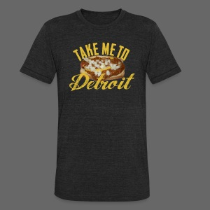 Take Me To Detroit Coney - Unisex Tri-Blend T-Shirt by American Apparel