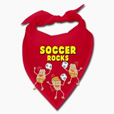 Three Soccer Rocks Light Caps