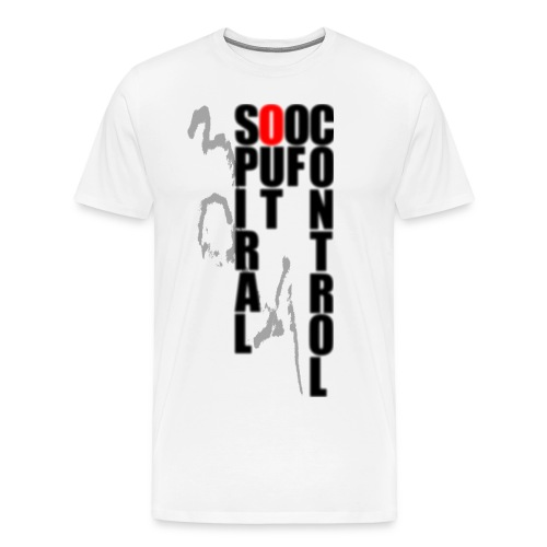 SOOC Rain (WH) - Men's Premium T-Shirt