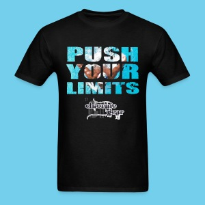 Motivational Series-Push Your Limits- Men's Tee - Men's T-Shirt