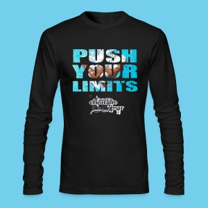 Motivational Series-Push Your Limits- Men's American Apparel LS Tee - Men's Long Sleeve T-Shirt by Next Level