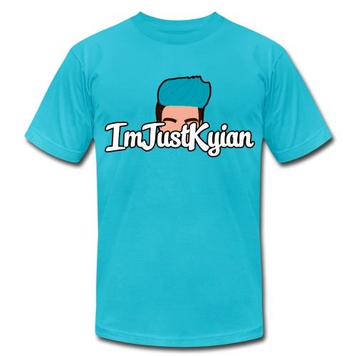 ImJustKyian logo shirt (Men) - Men's Fine Jersey T-Shirt