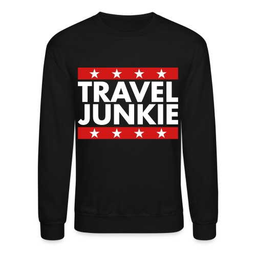 Travel Junkie - Crewneck Sweatshirt