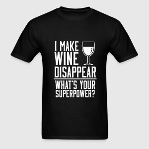 Funny wine superpower t-shirt - Men's T-Shirt