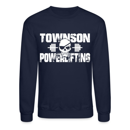 Townson Powerlifting Men's Crewneck - Crewneck Sweatshirt
