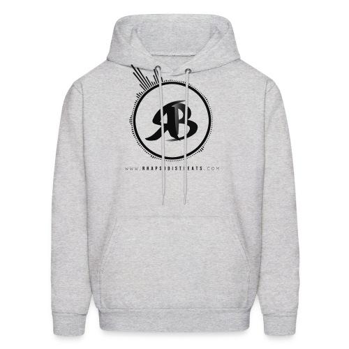 RB Black on Grey Hoodie - Men's Hoodie