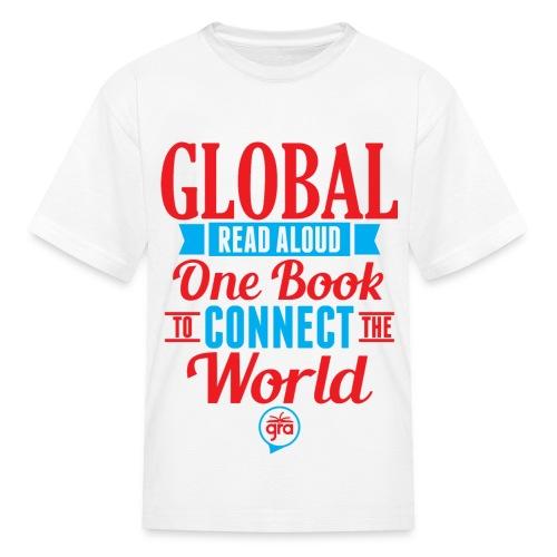 Kids Official Global Read Aloud shirt - Kids' T-Shirt