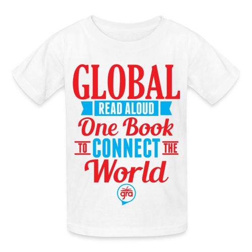 Kids Official Global Read Aloud shirt - Kids' T-Shirt