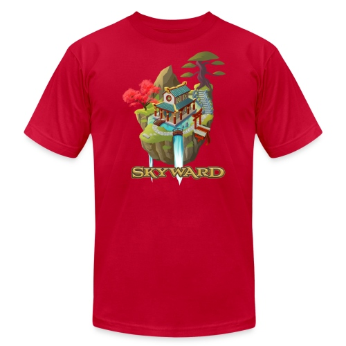 Skyward (Mens - American Apparel) - Men's Fine Jersey T-Shirt