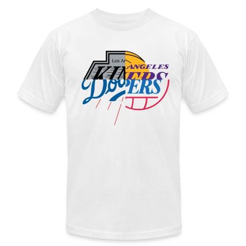 LA TEAM MASH UP - Men's Fine Jersey T-Shirt