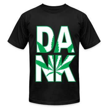 DANK - Men's T-Shirt by American Apparel