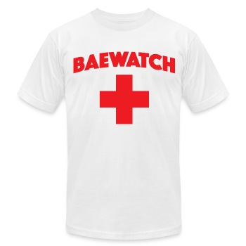 BAEWATCH - Men's T-Shirt by American Apparel