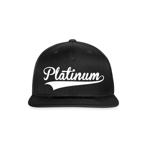Flatline Snapback - Snap-back Baseball Cap