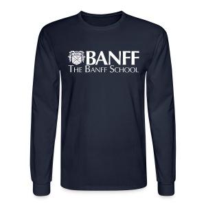 Crest Long-sleeved Shirt - Men's Long Sleeve T-Shirt
