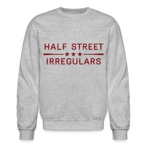 HSI Industrail - Men's Heather Gray Sweatshirt - Crewneck Sweatshirt